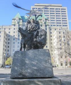 Statue du confederation Park