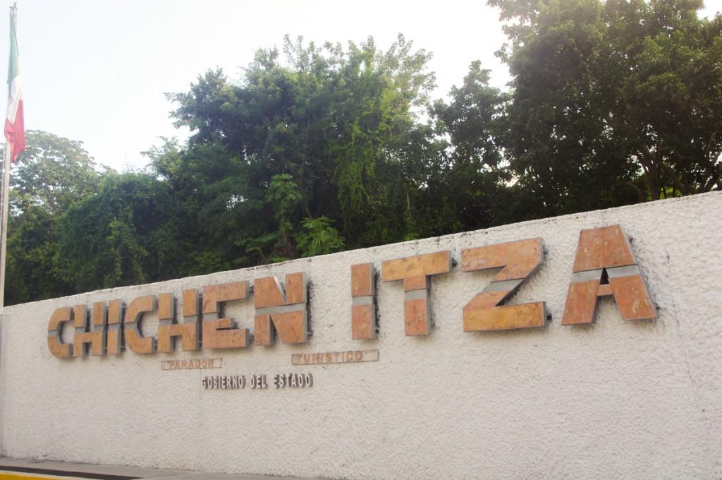 Entrée du site de Chichen Itza