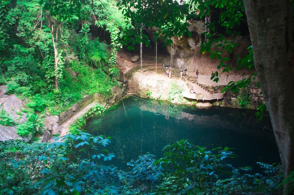 Cenote, Valladolid