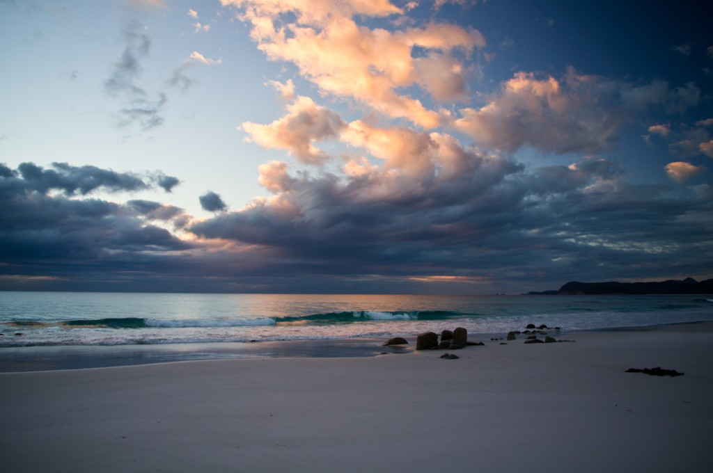 Sunrise, Friendly Beaches, Freycinet NP