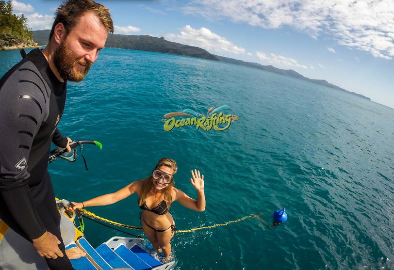 Snorkeling avec Ocean rafting