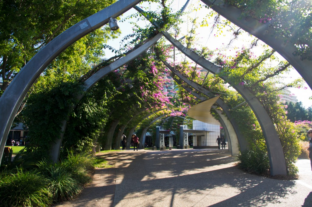 Les jardins de Southbank