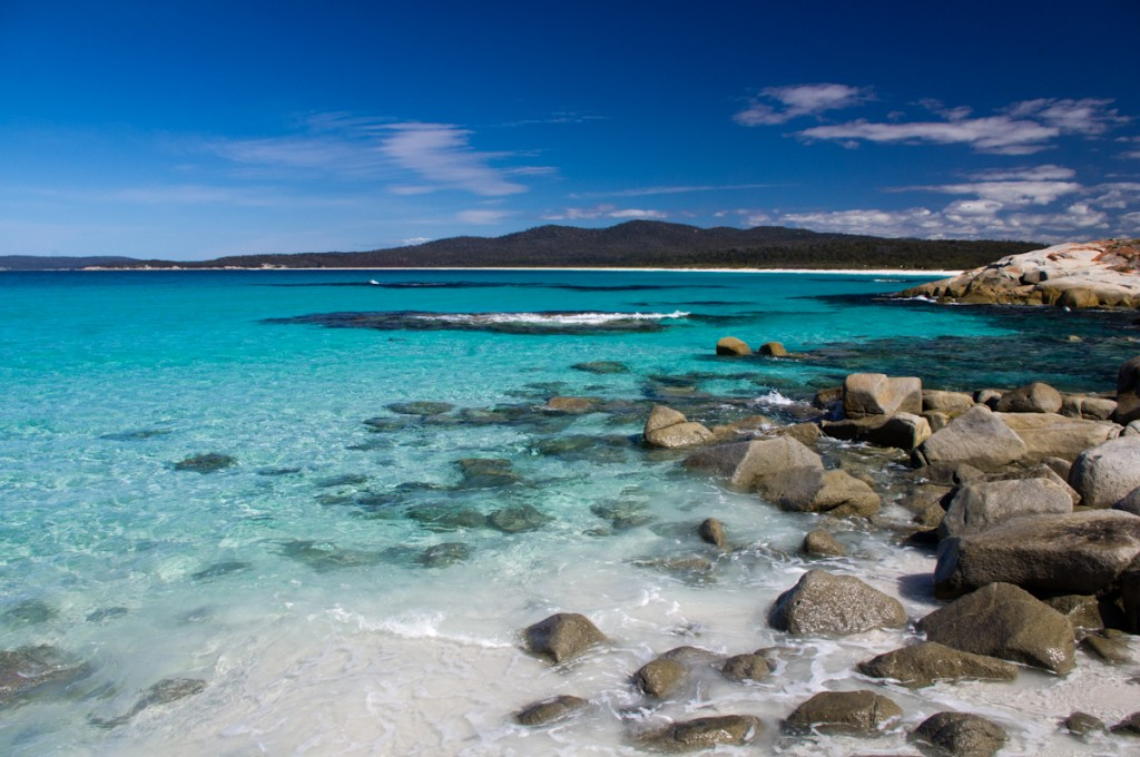 Crique de Bay of Fires