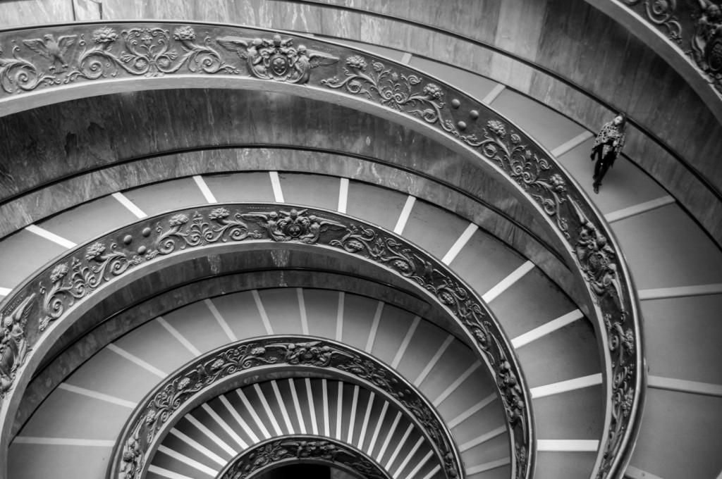 Escaliers de Bramante