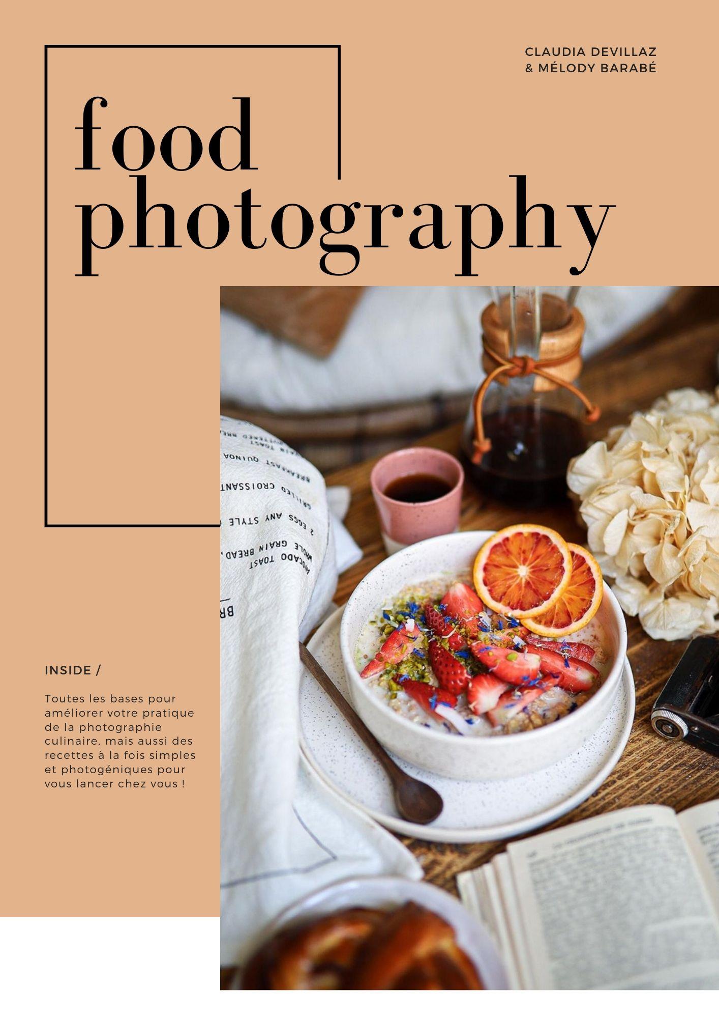 Ebook Cuisine et photographie