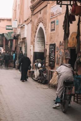 Par les rues de Marrakech