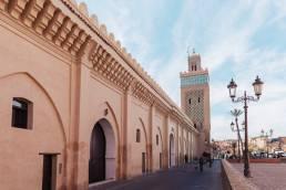 Près des tombeaux Saadiens, Marrakech