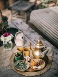 Thé au Riad le Jardin Secret